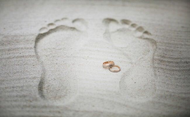 Anillos y votos para boda