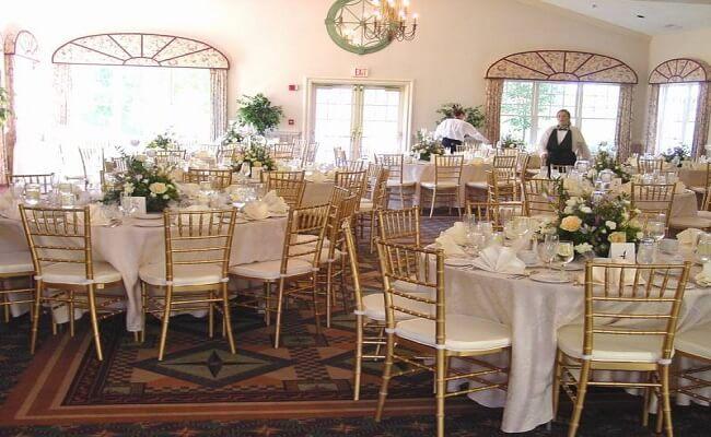 Banquete y mesas