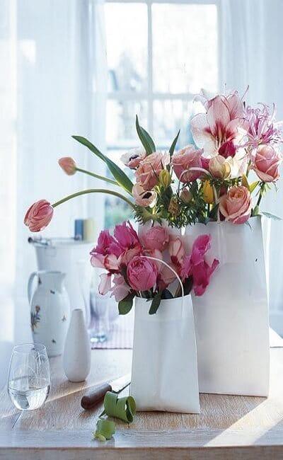 Decoración flores antiguas