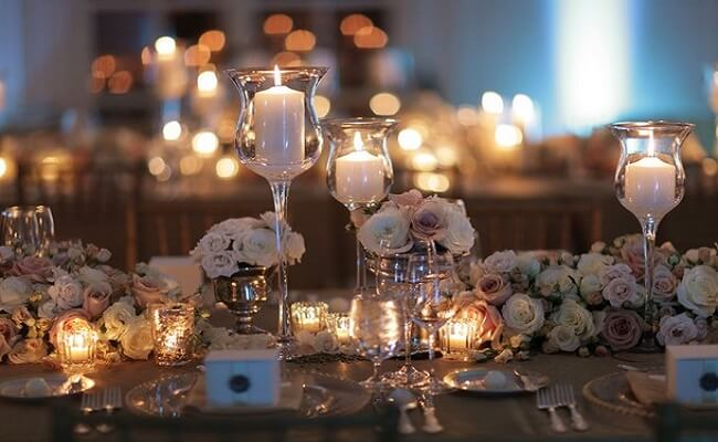 Ideas graciosas para una boda de plata