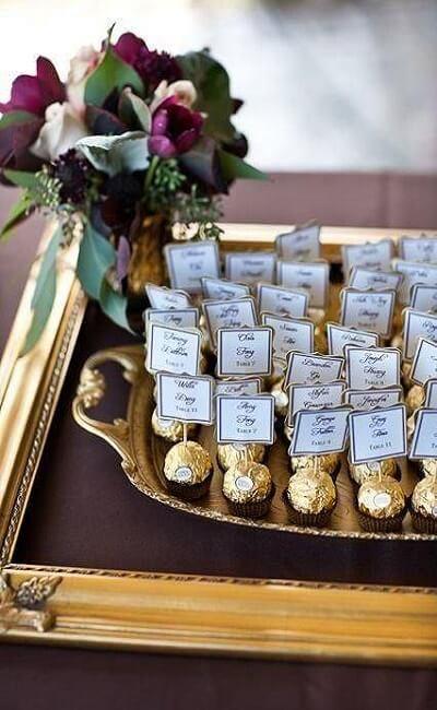 Ideas y manualidades para la boda de oro
