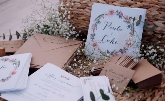 invitaciones de boda con estilo