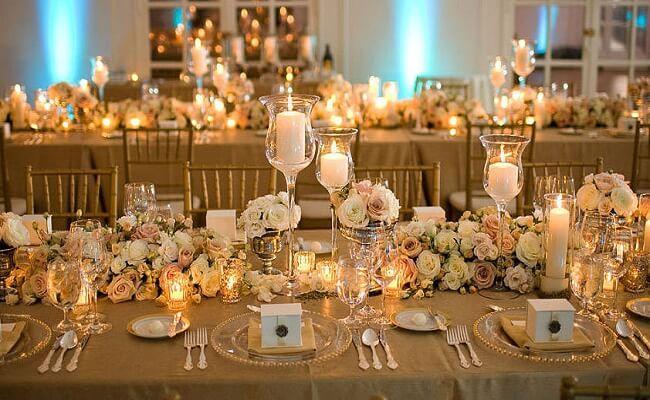 La organización de una boda de oro