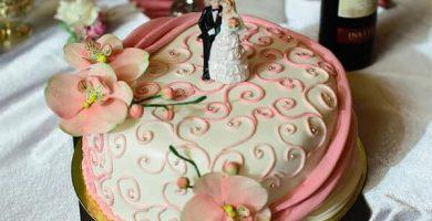 Pastel y tarta de boda