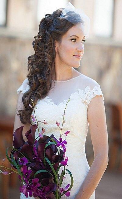 Peinado para una boda civil