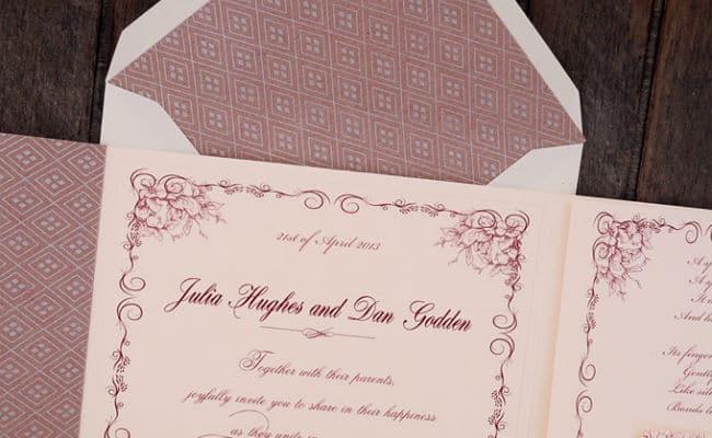 texto en invitaciones de boda
