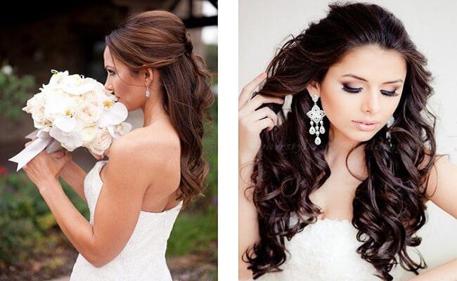 Tipos de peinados para novias