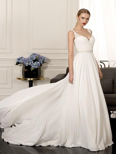 Alquilar vestido para novia en Madrid
