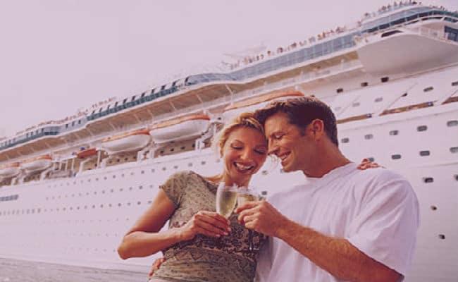 Costa cruceros para viaje de casamiento