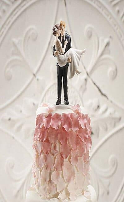 Ejemplo de figuras para pastel de boda