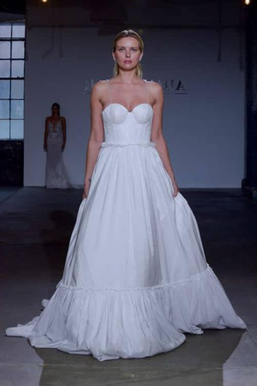 Escote en vestido para novias