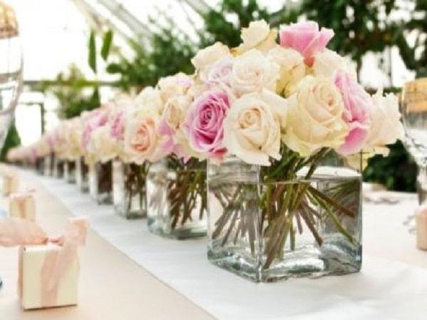 Flores para los invitados