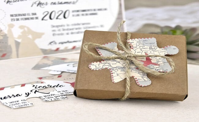 Idea original para invitaciones de boda