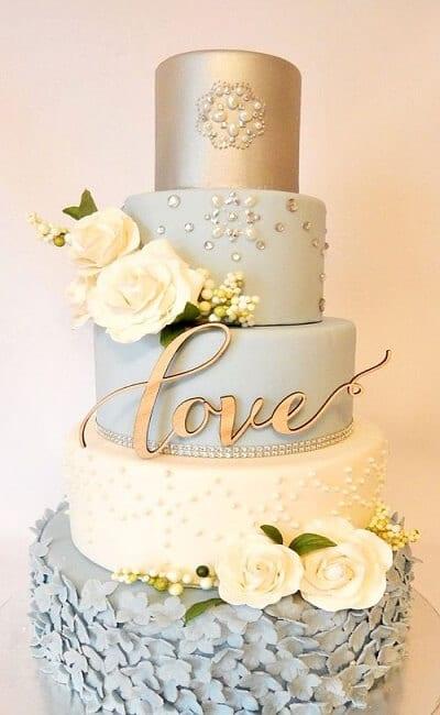 Ideas para pastel de boda