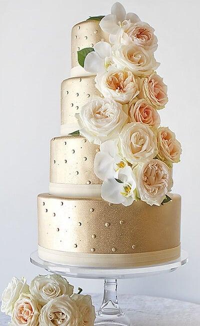 Pastel de boda civil