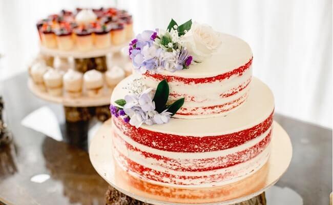 Pastel de boda aconómico