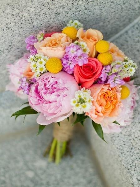 Ramo para boda rosado
