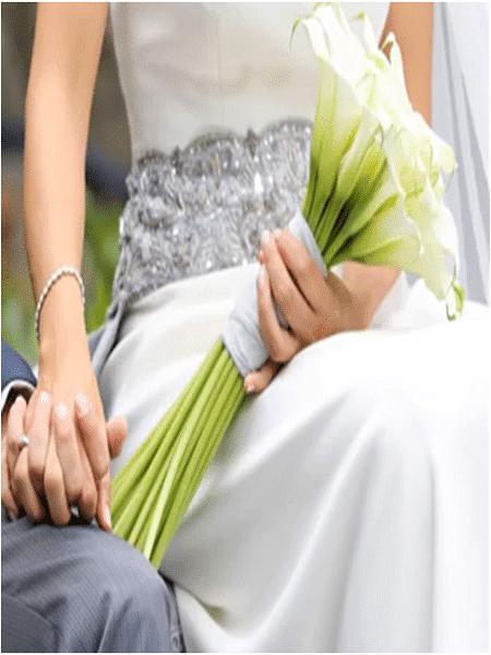Ramo para la novia simple