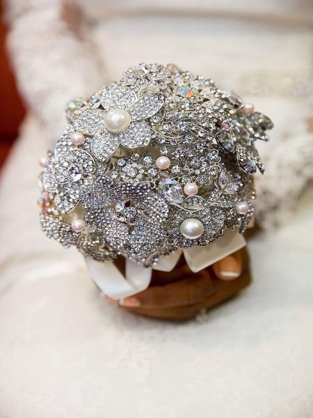 Ramos de novia con joyas