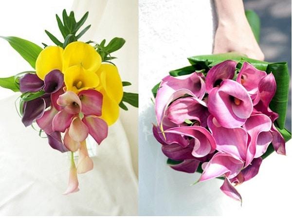 Ramos con flores exóticas