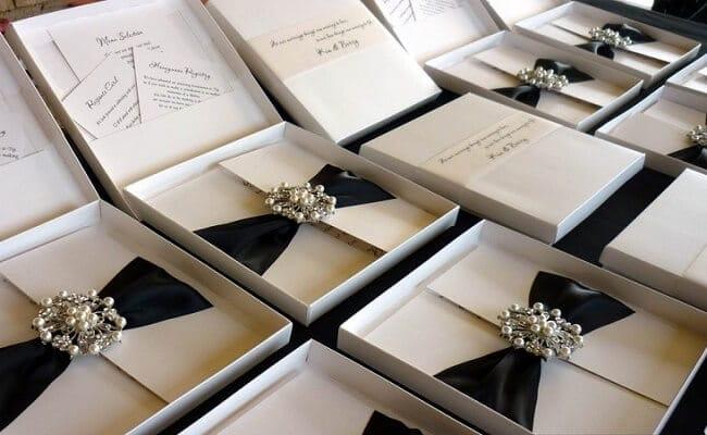 Cobres elegantes para bodas