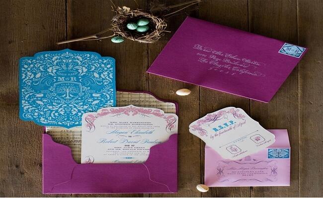 Ejemplos de tarjetas de invitaciones para boda civil