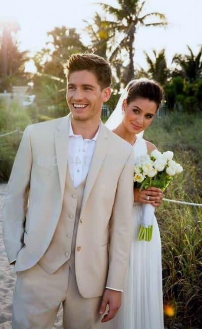 Traje para boda en verano