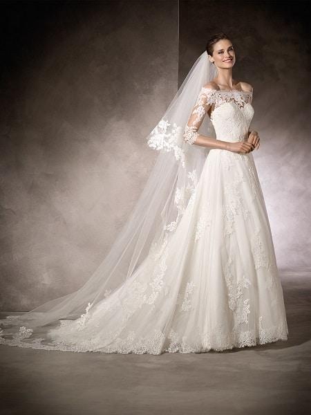 Vestido clásico blanco