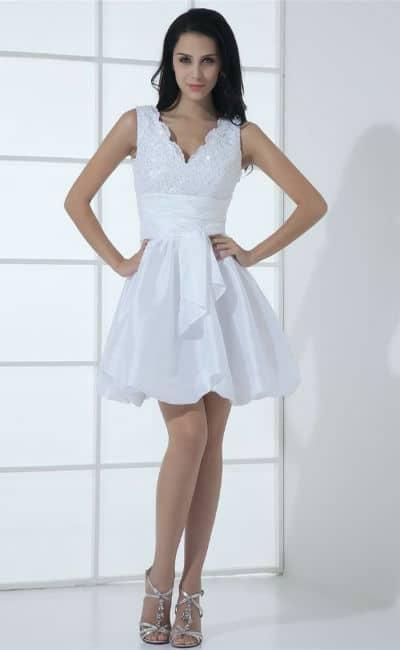 Vestido mini corto
