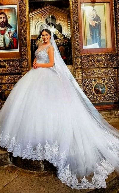 Vestido para novia hermoso