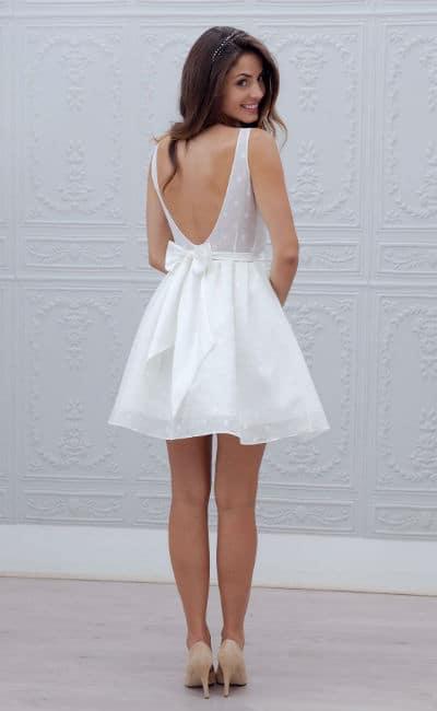 Vestido sexy de novia