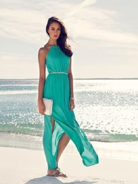 Idea de vestido para playa