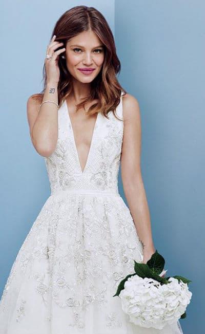 Vestido de boda sexy y elegante