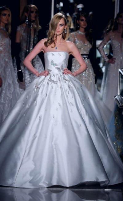 Vestidos de novia caros y elegante