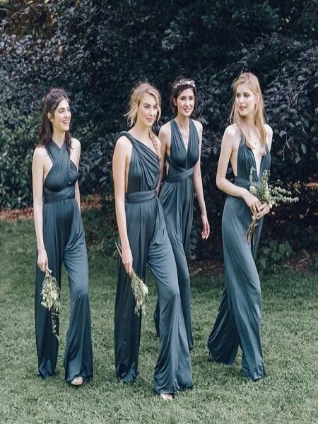 Vestidos negros largos para boda