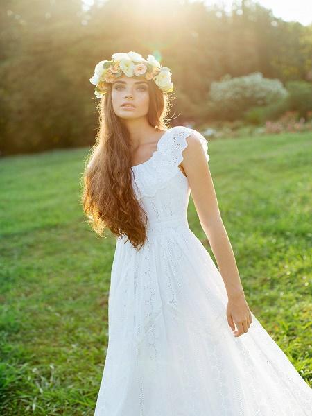 Vestidos para bodas en jardín