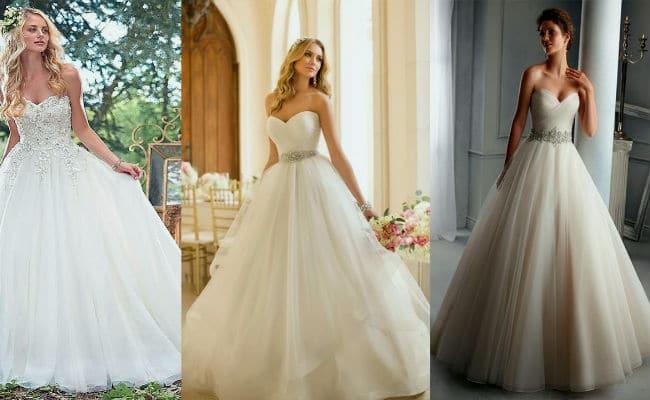 Vestidos estilo princesas para novias