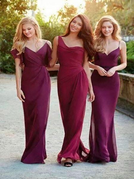 Vestidos rojos juveniles