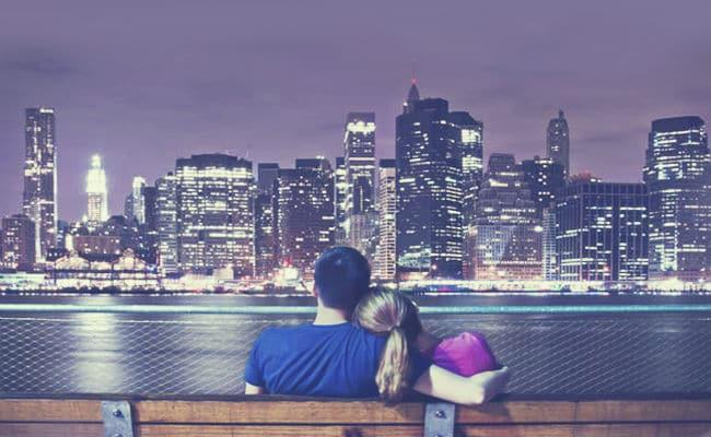 Viaje de novios románticos