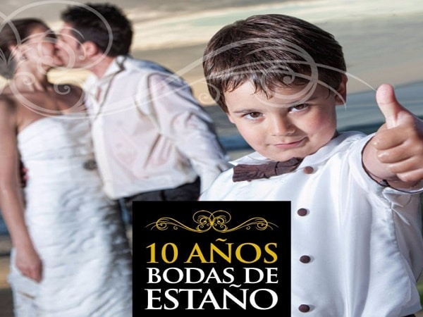 10 años boda de Estaño