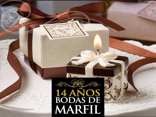 14 años boda de Marfil