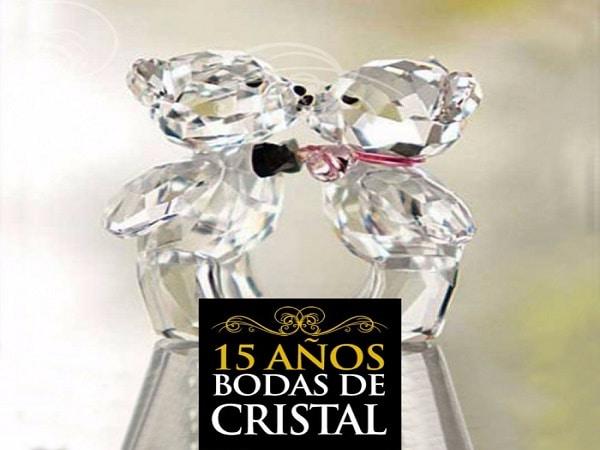 15 años boda de Cristal