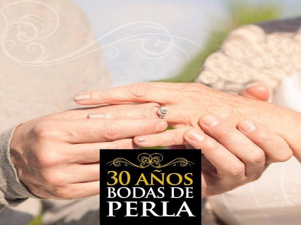 30 años boda de Perla