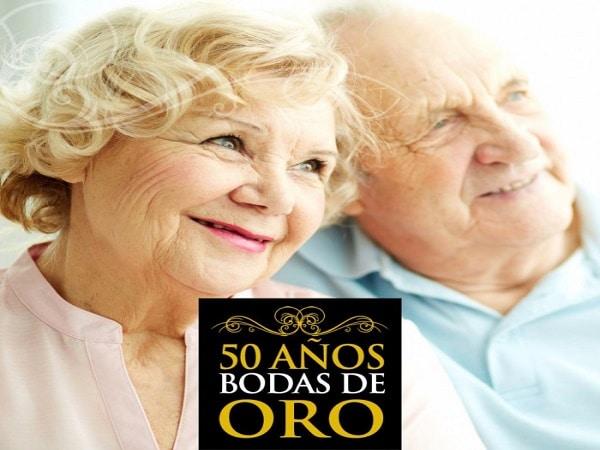 50 años boda de Oro