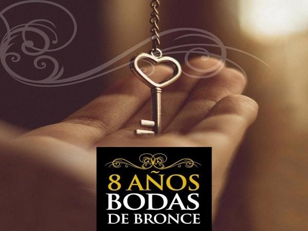 8 años boda de Bronce