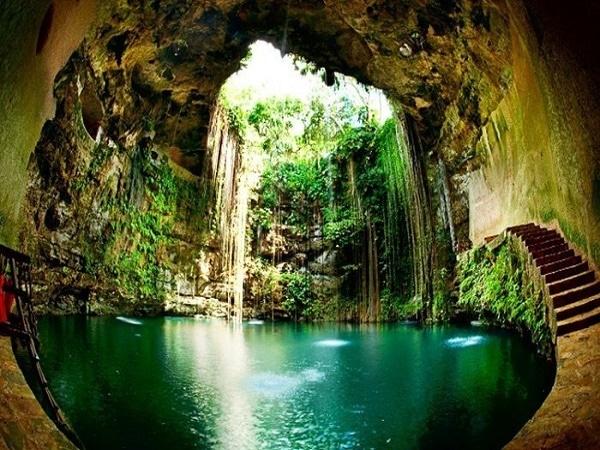 Cueva en México