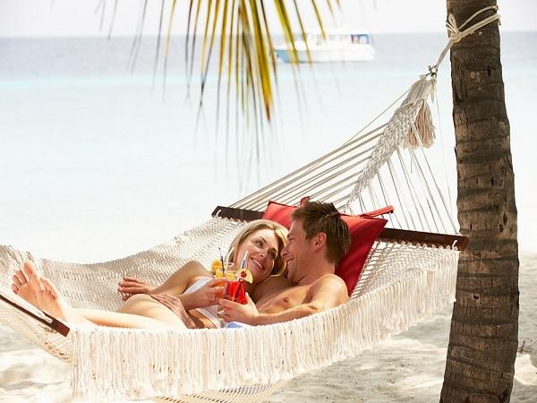 Hotel en la playa en Hawai