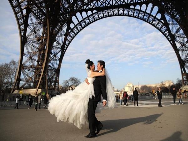 Luna de miel en Paris