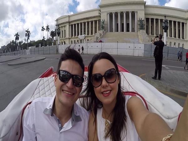 paseo de novio en Cuba