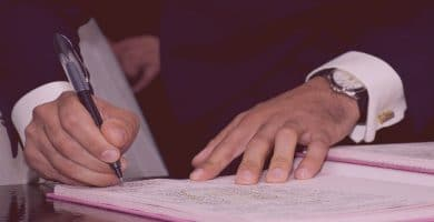 papel de testigos de boda